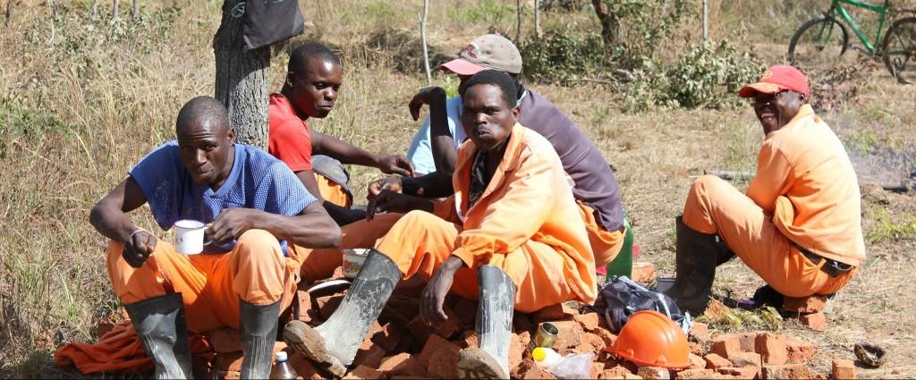 Koffietijd met het bouwteam